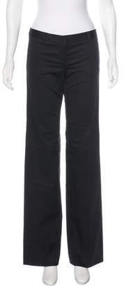 Burberry Wide-Leg Low-Rise Pants