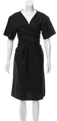 Edun Short Sleeve Midi Dress