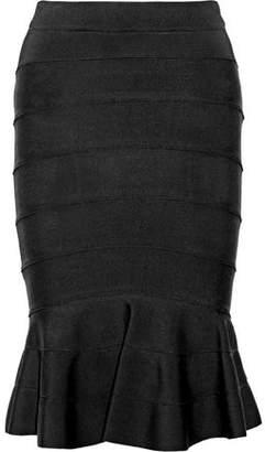 COM Givenchy Fluted Faille Skirt