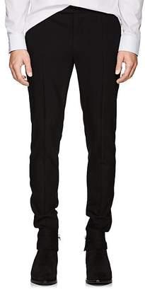 Balmain Men's Wool Skinny Tuxedo Trousers