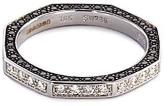 Stephen Webster Diamond 18k white gold octagon ring