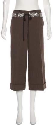 Robert Rodriguez Mid-Rise Culotte Pants