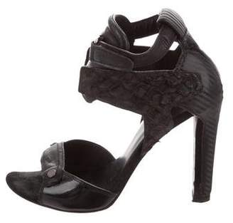 Alexander Wang Leather Ankle Strap Sandals