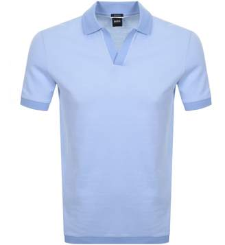 HUGO BOSS Boss Business Pye 4 Polo T Shirt Blue