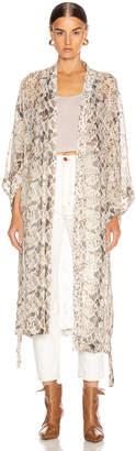 Nicholas Kimono in Brown Multi | FWRD