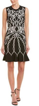 Alexander McQueen Jacquard Sheath Dress