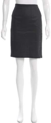 3x13x1 Paneled Knee-Length Skirt
