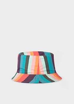 Paul Smith Baby Boys' Reversible 'Artist Stripe' Bucket Hat