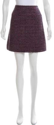 Chanel Tweed Mini Skirt