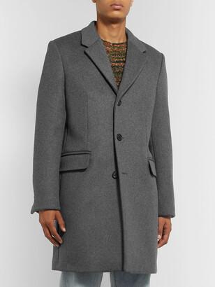 Acne Studios Gavin Melange Wool-Blend Overcoat