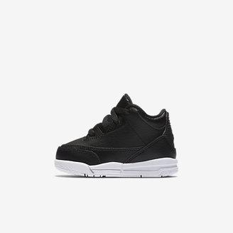 Air Jordan Retro 3 Infant/Toddler Shoe $60 thestylecure.com