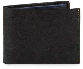 Robert Graham Bi-Fold Leather Wallet