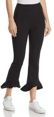 C/Meo Collective Forgive Ruffle-Hem Cropped Pants