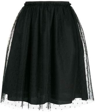 RED Valentino high-waisted skirt