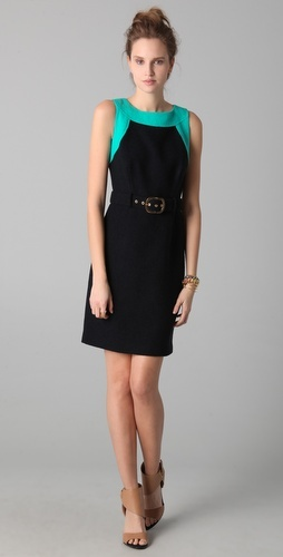 Milly Florencia Combo Dress