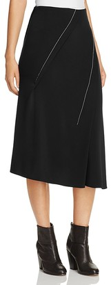 DKNY Asymmetric Pleated Skirt - 100% Exclusive $198 thestylecure.com