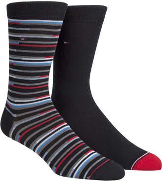 Tommy Hilfiger Men 2-Pk. Striped Socks
