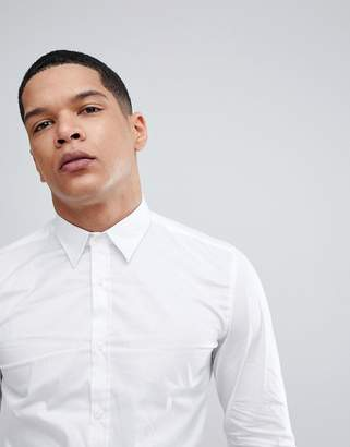 Antony Morato Stretch Shirt In White