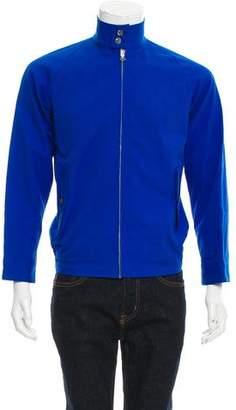 Arts & Science Mandarin Collar Bomber Jacket