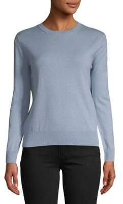 Max Mara Crewneck Wool Cashmere Sweater