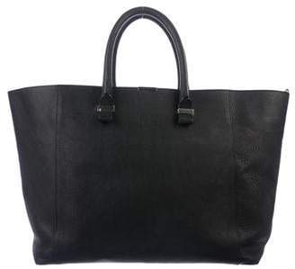 Victoria Beckham Leather Liberty Tote Black Leather Liberty Tote