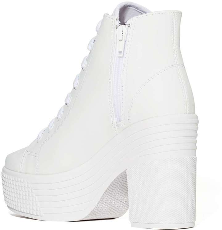 Nasty Gal JC Play by Jeffrey Campbell Asif Boot - White