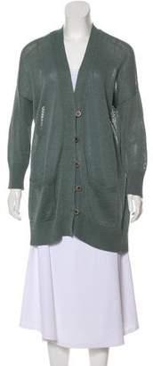 Brunello Cucinelli Knit Button-Up Cardigan