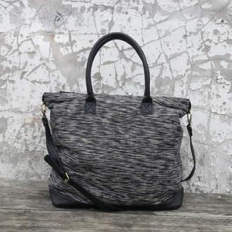 at Notonthehighstreet.com · Aura Que Fairtrade Handwoven Weekender Bag With  Leather Trim ae05695b5de16