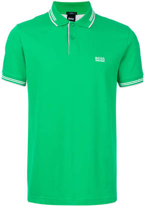 HUGO BOSS logoed polo shirt