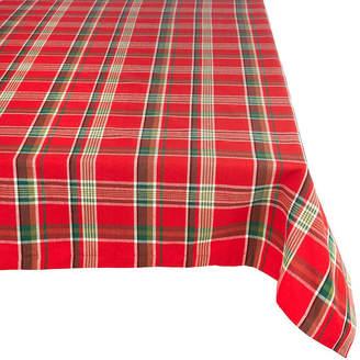Avanti Tango Red Plaid Tablecloth