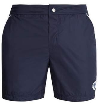 Robinson Les Bains - Oxford Long Swim Shorts - Mens - Navy