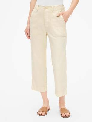 Gap High Rise Straight Crop Chinos