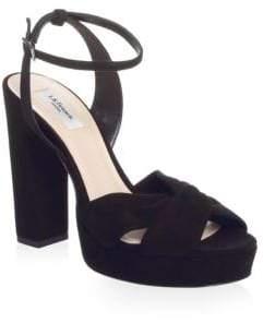 4cd0e4985f1 LK Bennett Black Ankle Strap Sandals For Women - ShopStyle UK