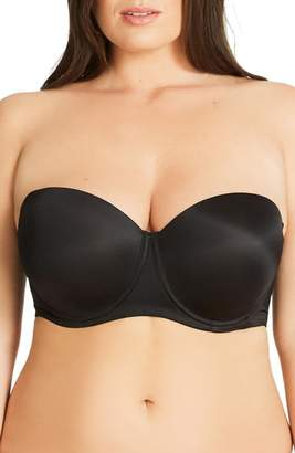 City Chic Adore Strapless Underwire Bra
