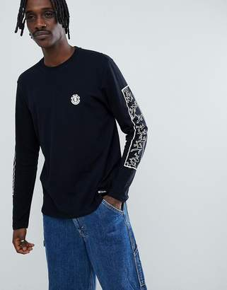 Element x Keith Haring long sleeve t-shirt in black