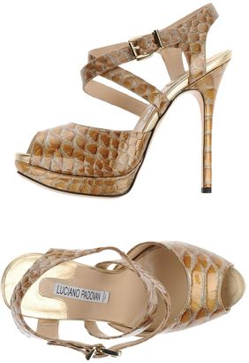 LUCIANO PADOVAN Sandals $248 thestylecure.com