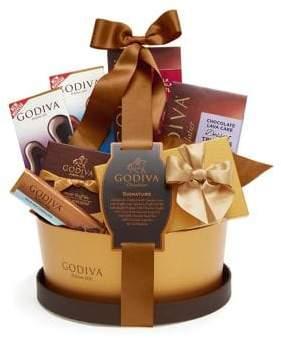 Godiva Signature Gift Basket with Classic Ribbon