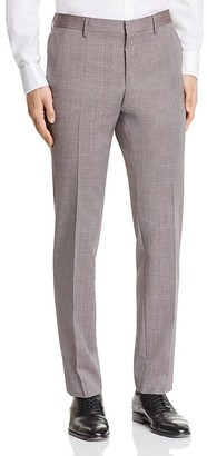 BOSS Hugo Boss Solid Slim Fit Trousers $195 thestylecure.com