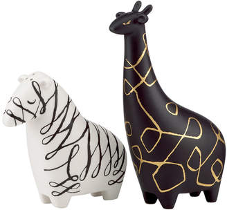 Kate Spade Salt and Pepper Shakers, Woodland Park Zebra and Giraffe