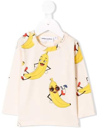 Mini Rodini banana print sweatshirt