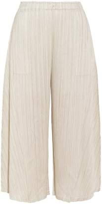 Pleats Please Issey Miyake Sara Sara Cropped Pants