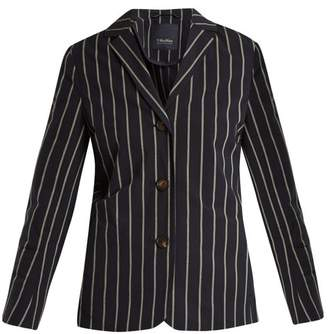 Max Mara S Colibri Jacket - Womens - Navy Stripe