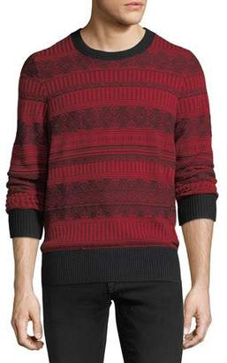 Burberry Ceramic Fair Isle Cashmere Sweater