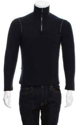 Victorinox Cashmere Zip-Up Sweater