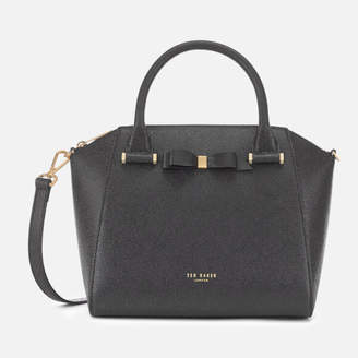 Ted Baker Women's Janne Bow Detail Zip Tote Bag