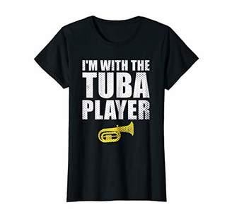 cf10990ee01 Womens Marching Band Tuba Mom Shirt Funny Gift Sister Grandma