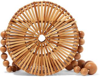 Cult Gaia Luna Bamboo Shoulder Bag - Neutral