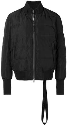 Blackbarrett padded bomber jacket