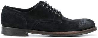 Dolce & Gabbana distressed derby shoes
