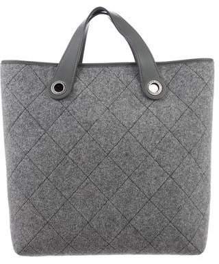 Chanel Medium Pop Felt Shopping Tote